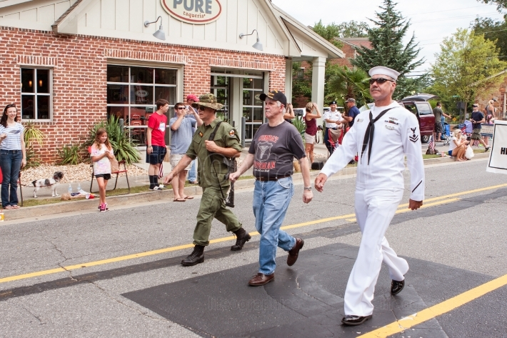 Combat Veterans Walk In Annual Georgia Old Soldiers Day Parade
