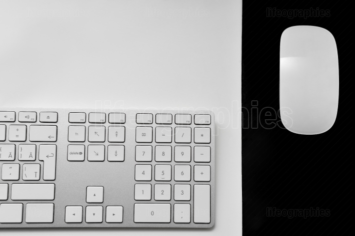 Computer keyboard, mouse and remote control