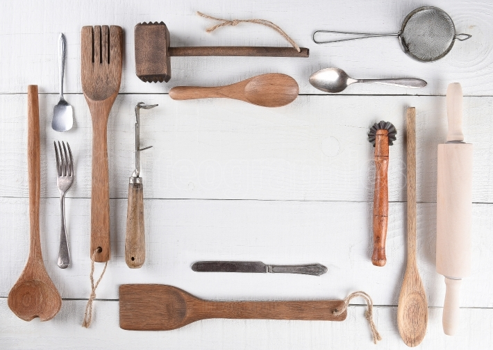 Cooking Utensils With Copy Space