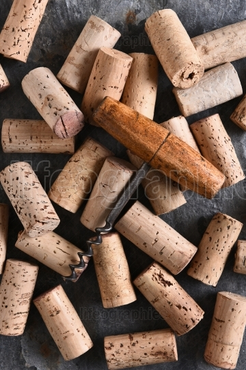 Corkscrew and Corks