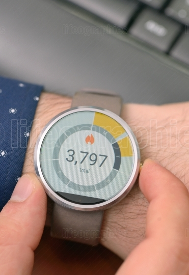 Counter on Smart Watch