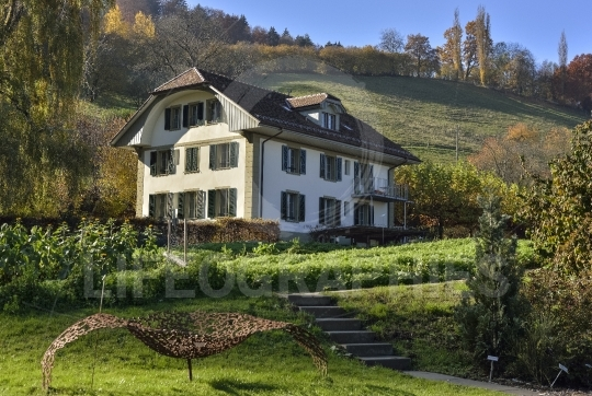 Country house from Switzerland