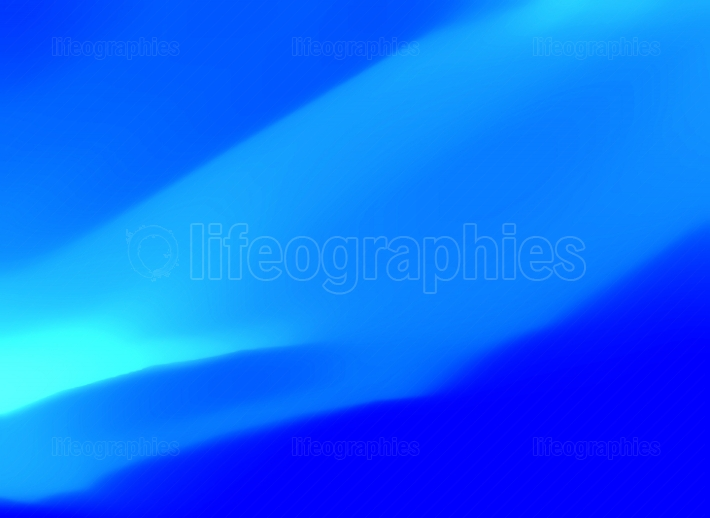 Curvy Blue Abstract