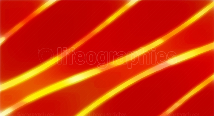 Curvy Red Yellow Orange Abstract