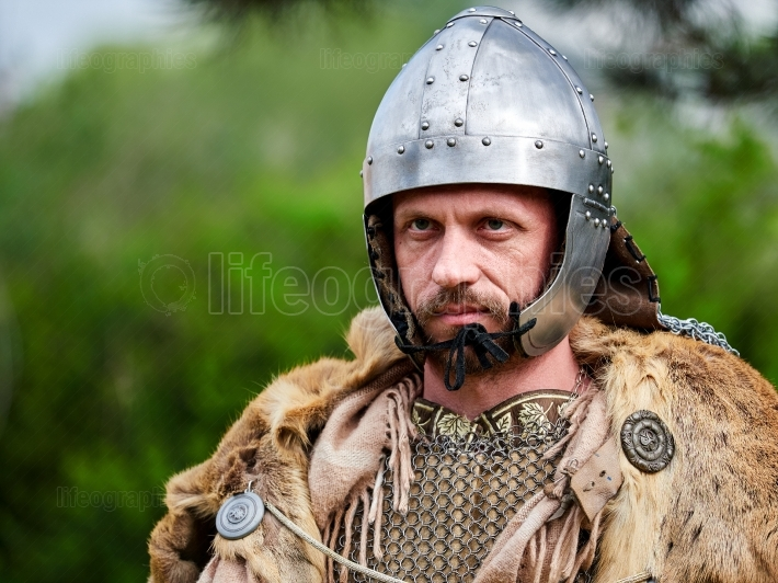 Dacian warriors at Dapyx Antique Festival - Medgidia who present habits, lifestyle and fighting tactics of the Romans and the Dacians.