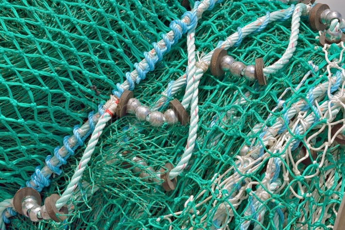 Detail of Fishing Net