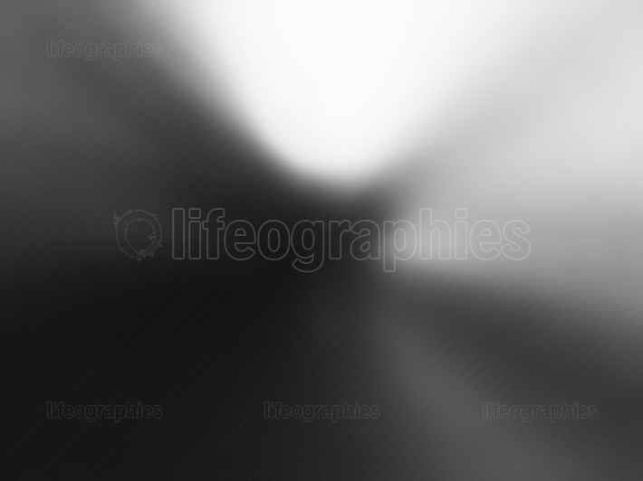 Diagonal black and white light leak bokeh background