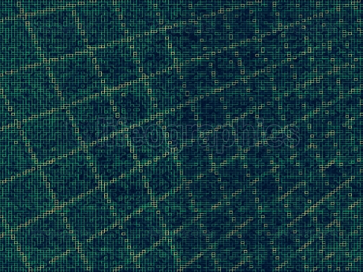 Diagonal retro pixel abstraction background