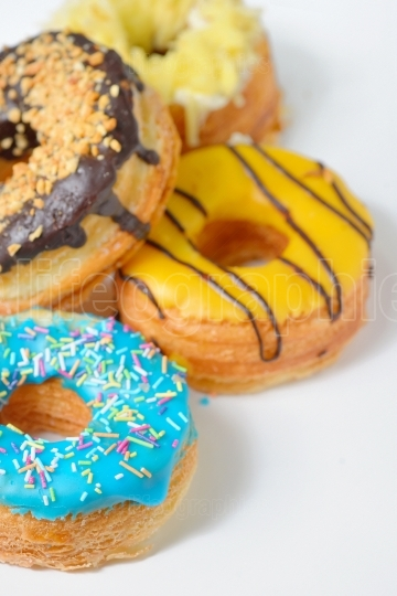 Different types of donuts