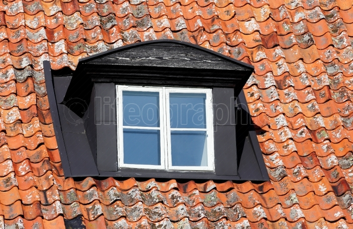 Dormer window architecture detail