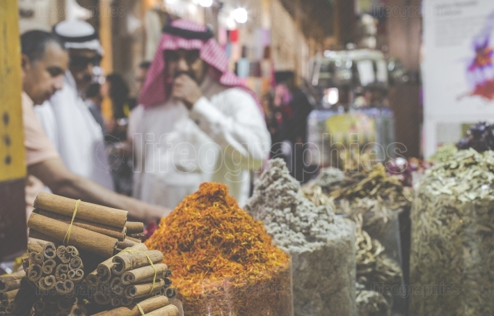 Dubai Spice Souk or the Old Souk is a traditional market in Duba