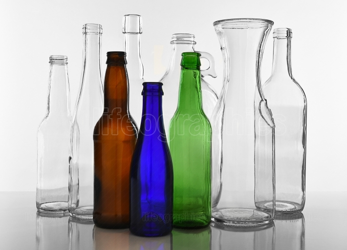 Empty Glass Bottles