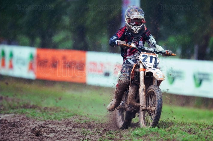 Endurocross motorcycle