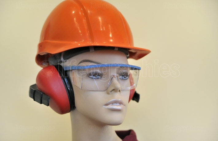 Eyewear and helmet