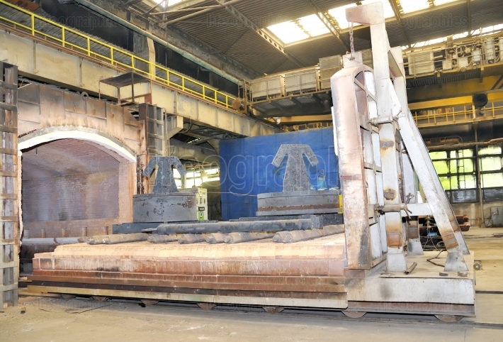 Factory big oven for steel