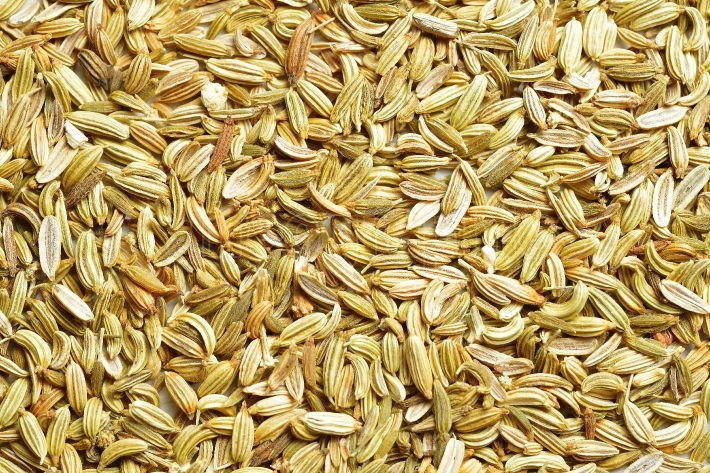 Fennel Seeds as Background texture