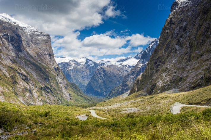 Fjordland National Park, Southern Alps, New Zealand