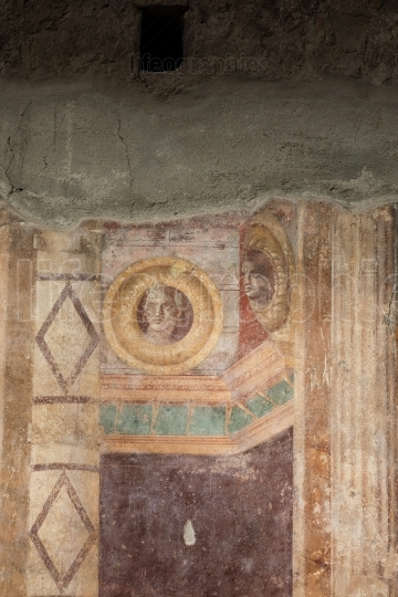 Fresco in villa oplontis