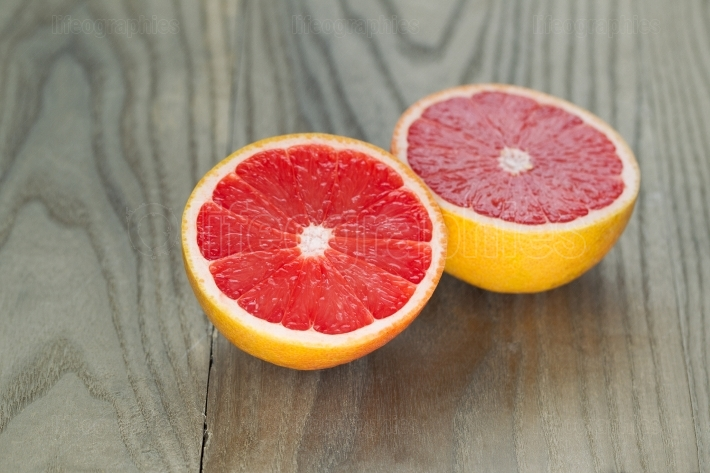 Fresh Ruby Red Grapefruit