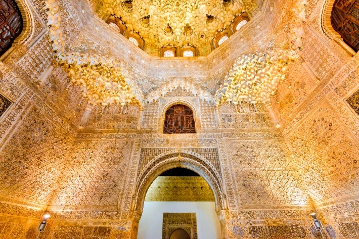 Granada, andalusia, spain - alhambra palace