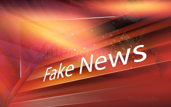 Graphical digital fake news background Coneept Series 411