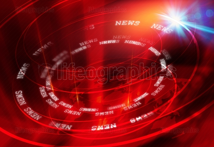 Graphical News Background  Concept Series 24