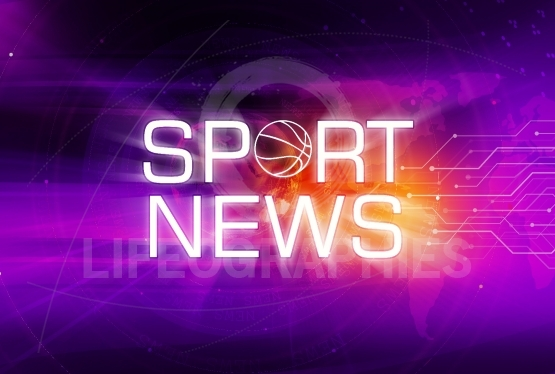 Graphical Sport News Background Concept Series 163