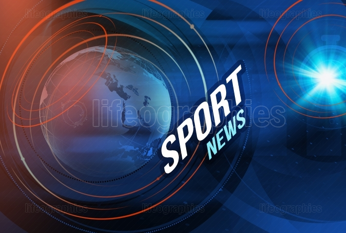 Graphical Sport News background I Coneept Series 448