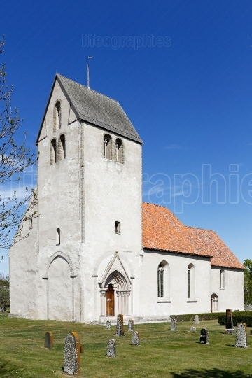 Hamra church at  Gotland