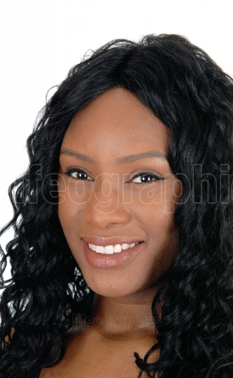Headshot of African young woman