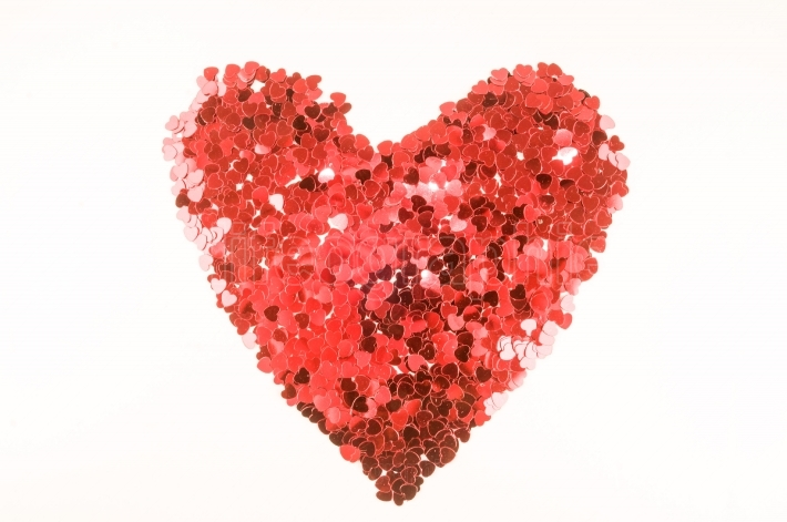 Heart texture background