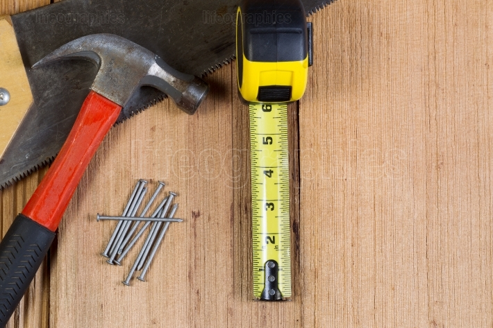 Home Repair Tools for Wooden Shingle Roof