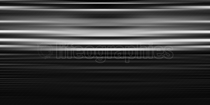 Horizontal black and white motion blur lines abstraction backdro