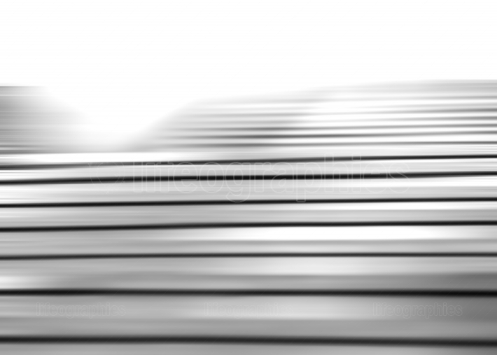 Horizontal black and white motion blur panels background