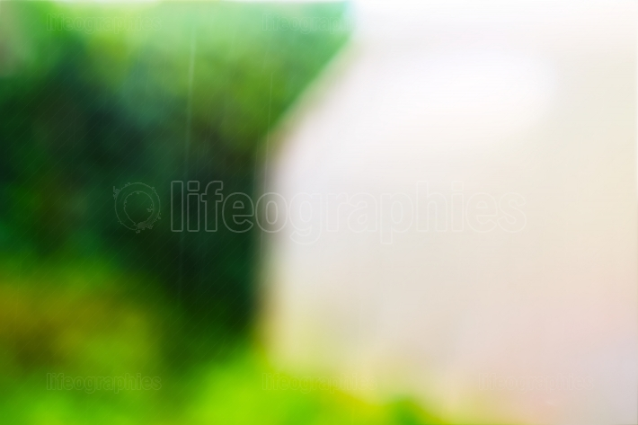 Horizontal bokeh background