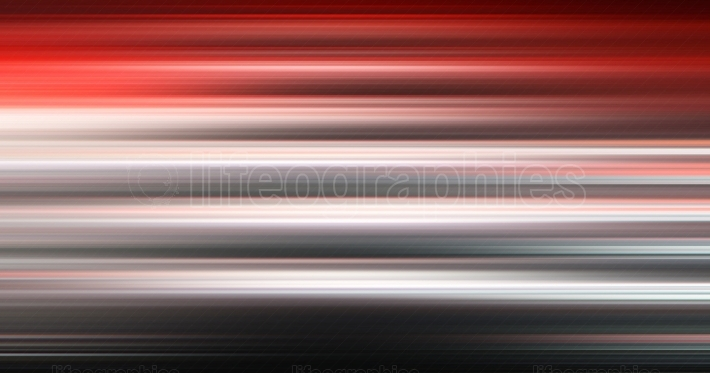 Horizontal red and black motion blur abstraction backdrop