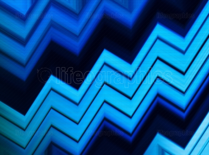 Horizontal vivid blue aqua business presentation pixel abstracti