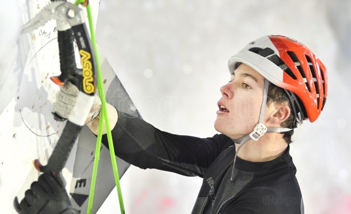 Ice climbing world championship saas fee 2015