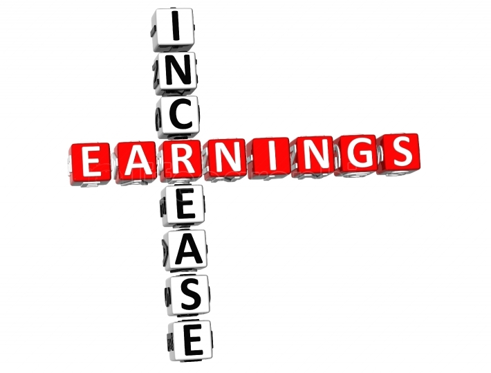 Increase Earnings Crossword