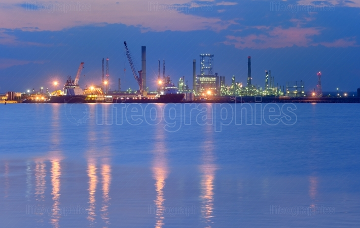 Industrial Petrochemical plant
