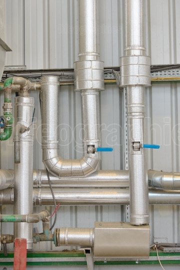 Industrial pipe equipment