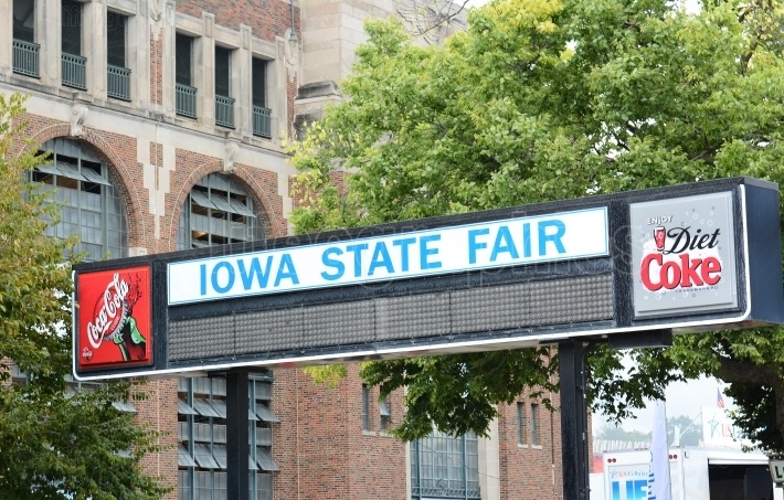 Iowa State Fair Sign
