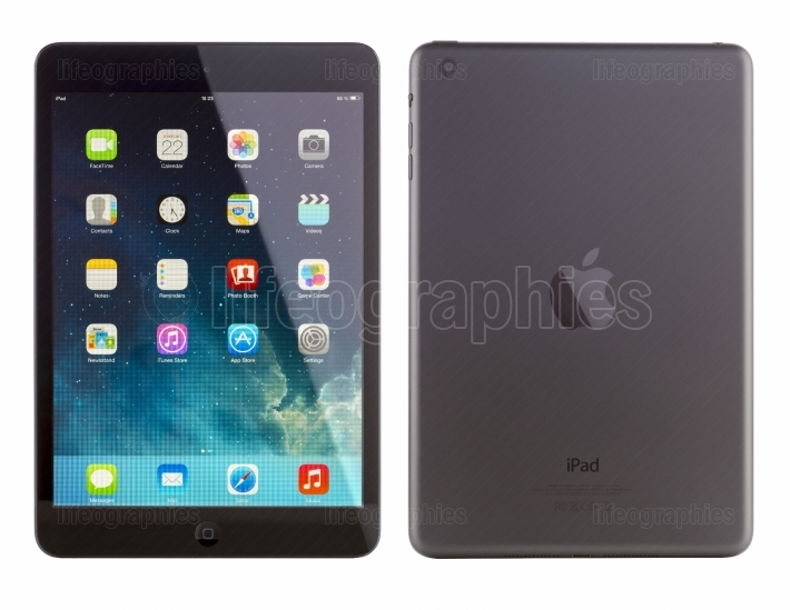 IPad Mini front and back view