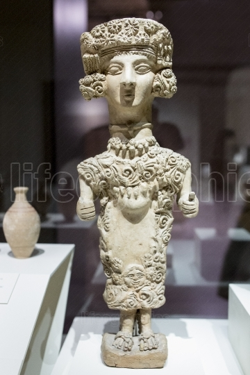 Lady of Ibiza, Carthaginian figurine from 4th century BC
