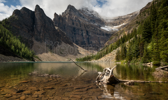 Lake Agnes, Banff National Park, Alberta, Canada