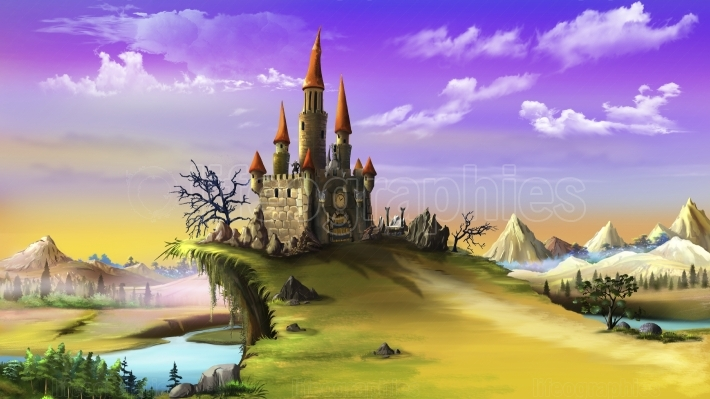 Landscape With a Magic Castle