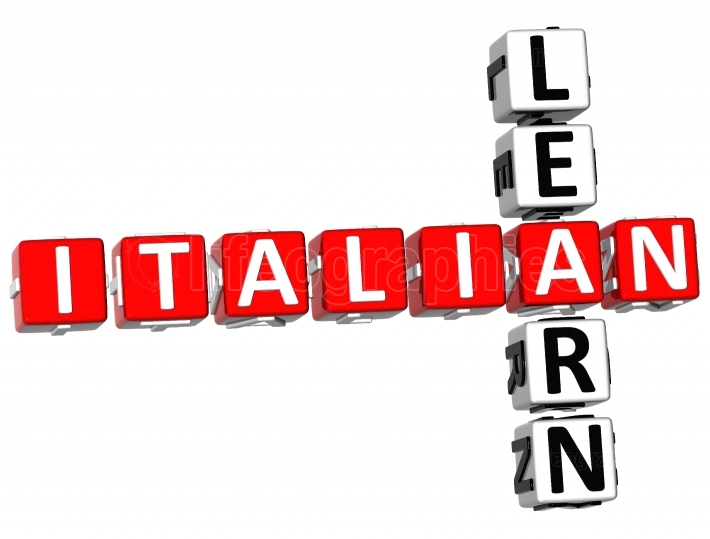 Learn Italian Crossword