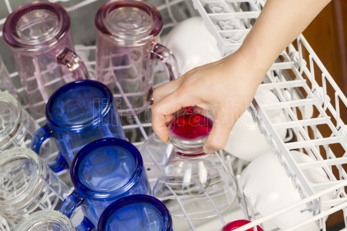 Loading the Dishwasher with glassware