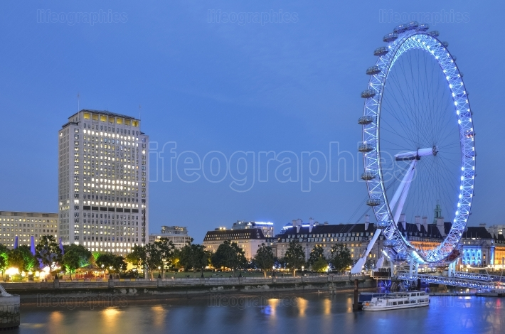 London Eye (Eye is not moving)