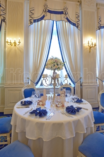 Luxury classic restaurant